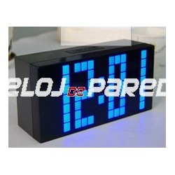 Reloj despertador digital led relojes digitales de pared - Relojes digitales de pared ...