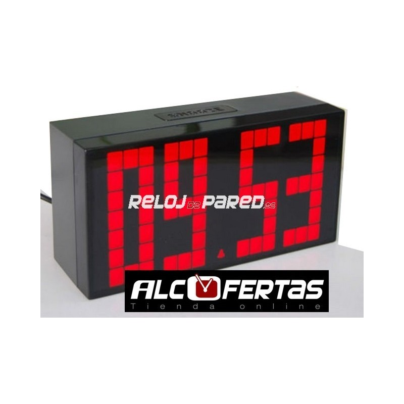 Reloj despertador digital led reloj de pared - Relojes digitales de pared ...
