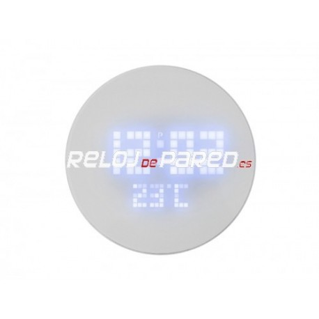 Reloj pared de dise o led reloj de pared - Reloj pared diseno ...