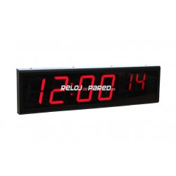 Reloj Led 6 digitos - Ethernet