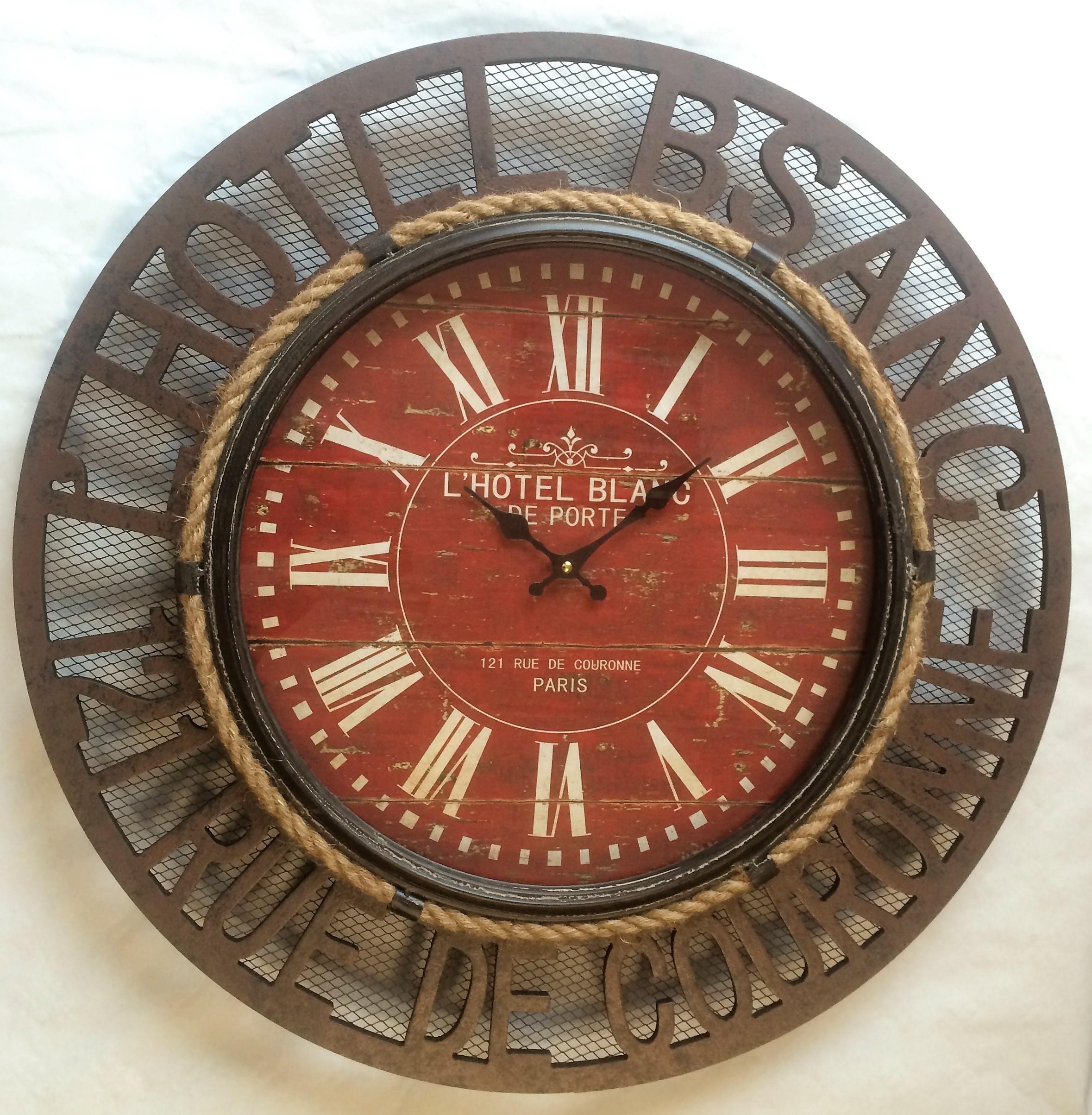 Relojes Pared Madera Relojes De Pared Relojes Digitales De  ~ Relojes Grandes De Pared Vintage