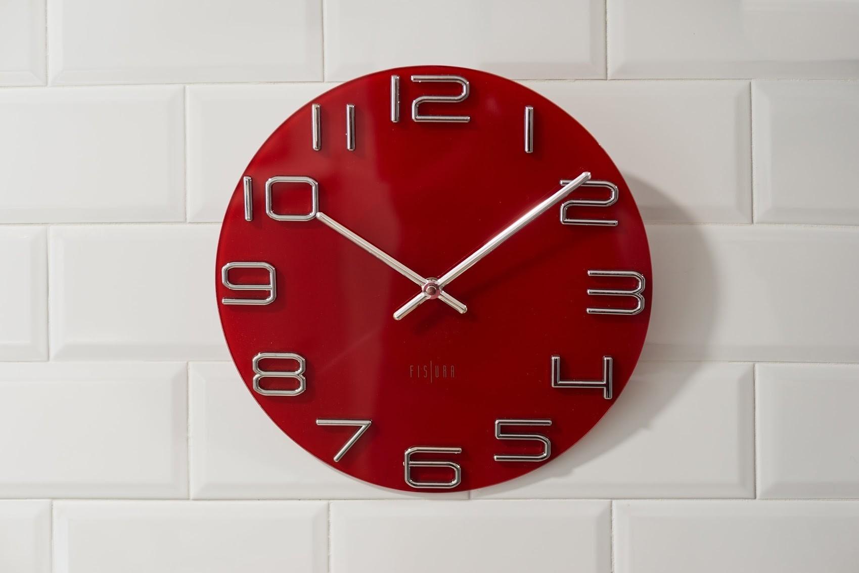 Relojes de pared modernos fabulous perfect diseo moderno - Relojes de pared modernos ...
