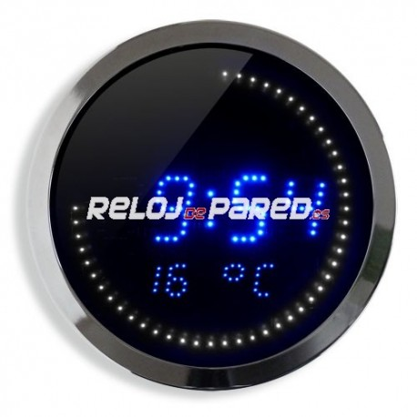 Reloj digital LED  con temperatura y fecha