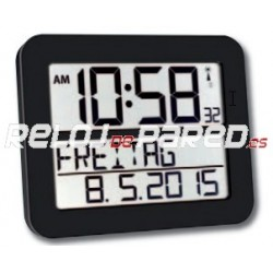 Reloj Digital LCD radiocontrolado calendario
