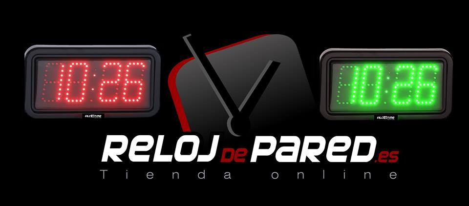 Reloj de pared de led